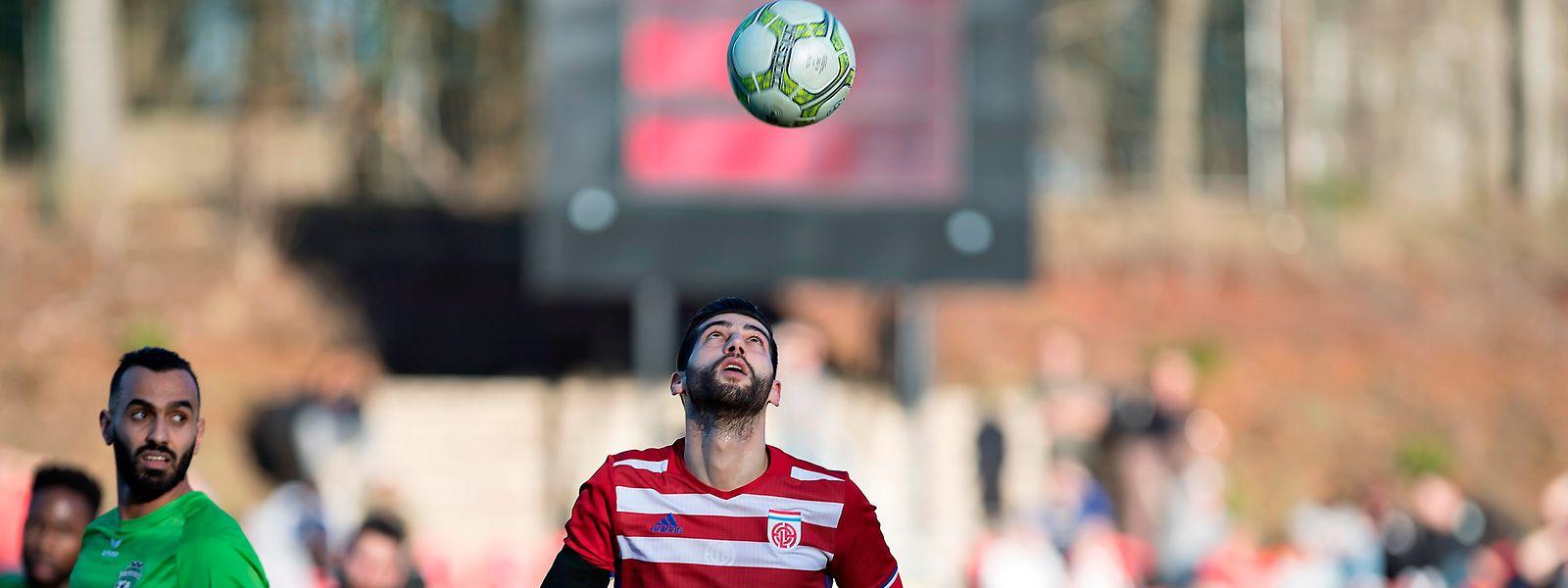 Samir Hadji erzielte gegen Mondorf zwei Treffer.