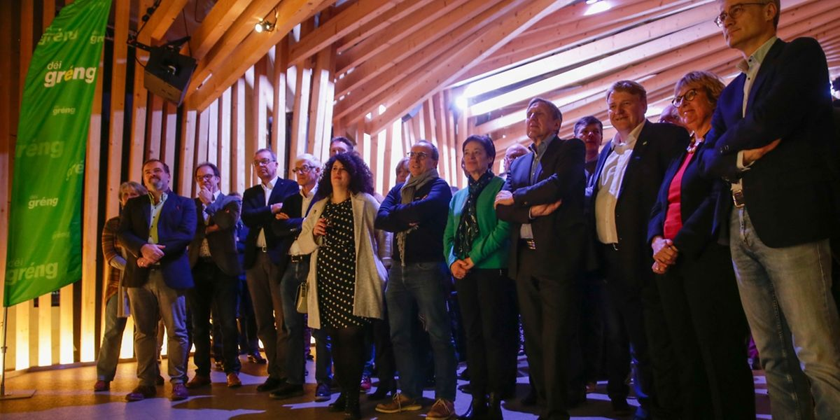 Déi Gréng werden erstmals die Landeswahlen aus der Regierung heraus bestreiten.