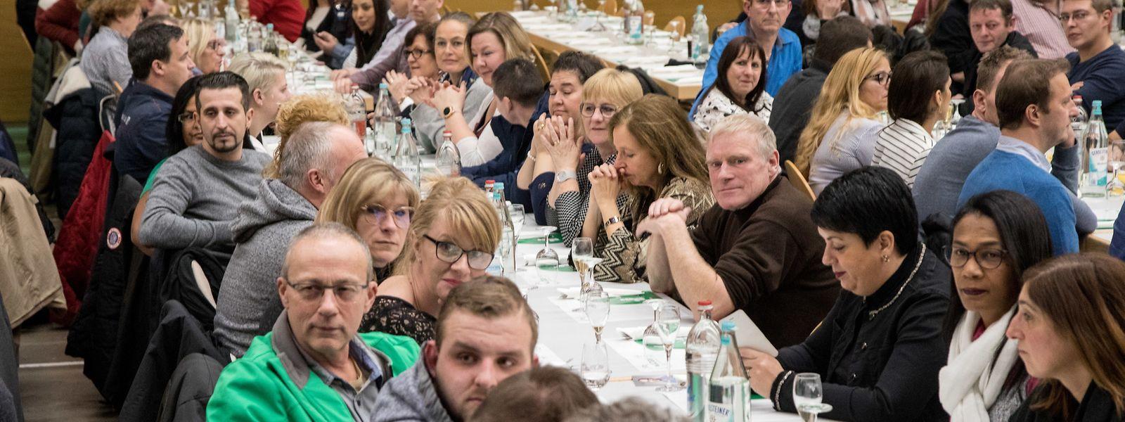 Près de 900 membres du LCGB se sont retrouvés à Schifflange mercredi soir lors de la réception du Nouvel An. Le discours objectif et engagé de Patrick Dury a été très bien accueilli.