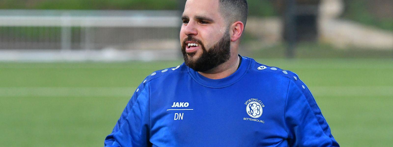 Daniel Nunes, treinador do SC Bettembourg, conseguiu o seu segundo título nacional.