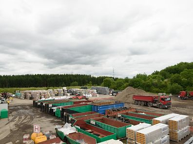 A former recycling centre makes way for the new premises of Differdange International School.