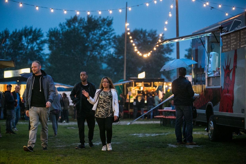 """Picadilly 2017: Bereits beim """"After-Work"""" am Freitagabend wurde ausgelassen gefeiert."""
