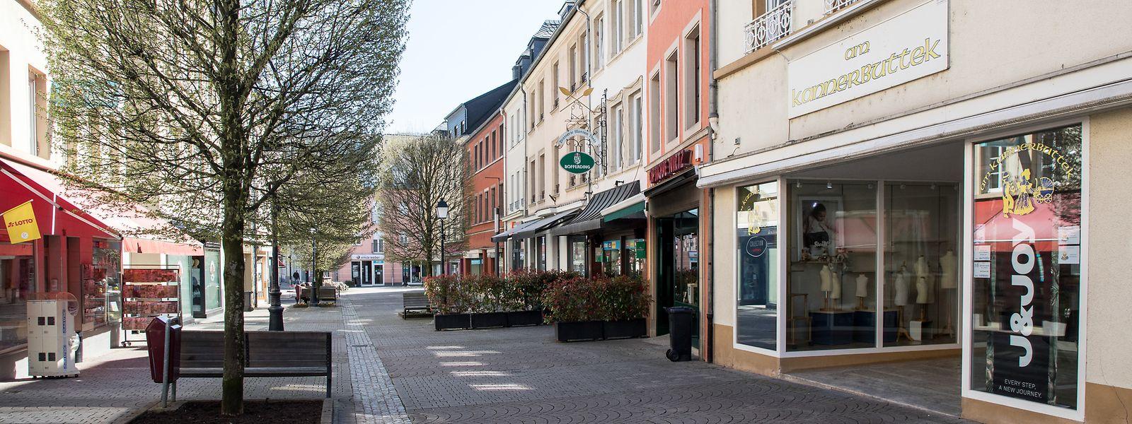 Le confinement semble respecté dans les rues de Strassen.