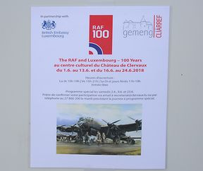 The RAF and Luxembourg - 100 Years