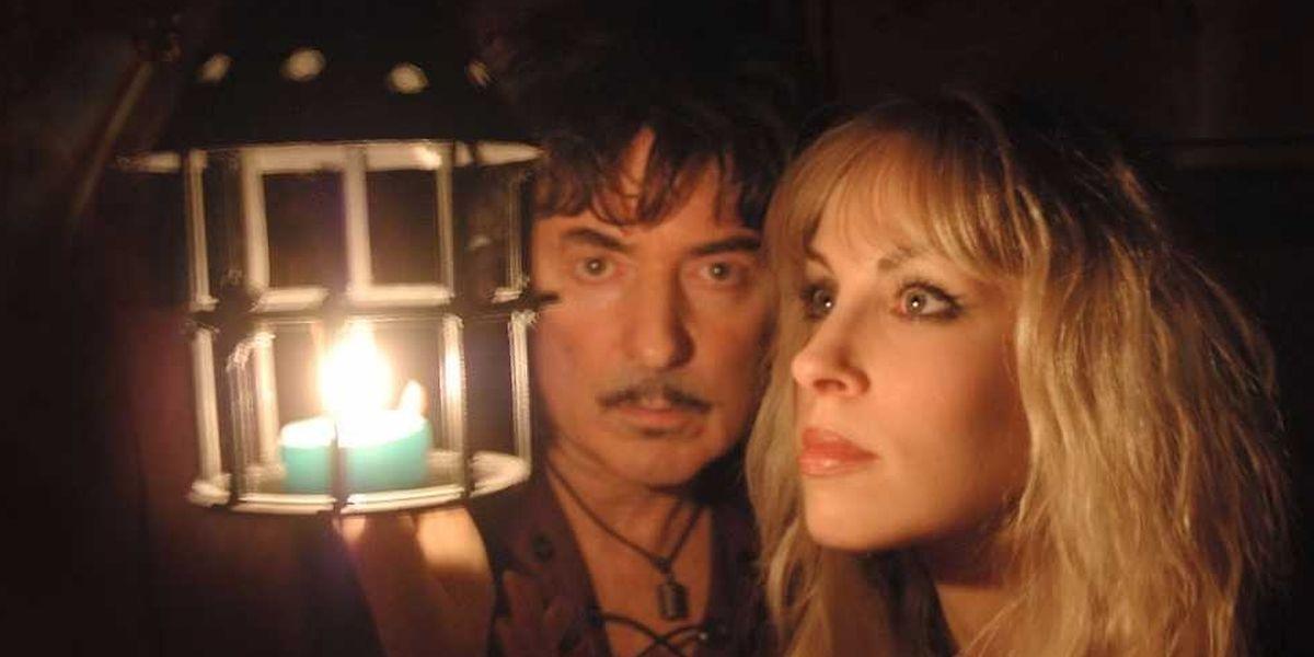 Seit 1997 zusammen auf der Bühne, seit 2008 verheiratet: Ritchie Blackmore und Candice Night.