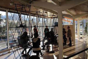 """Das """"Aquarium"""" des Kunstforums Casino verwandelt sich in den """"Virtual Reality Pavillon"""""""