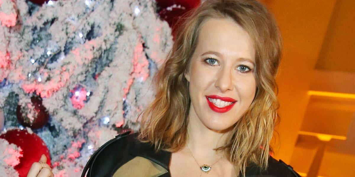 Xenia Sobtschak, 35, TV-Moderatorin, kann selbstironisch sein, bescheiden ist sie nicht.