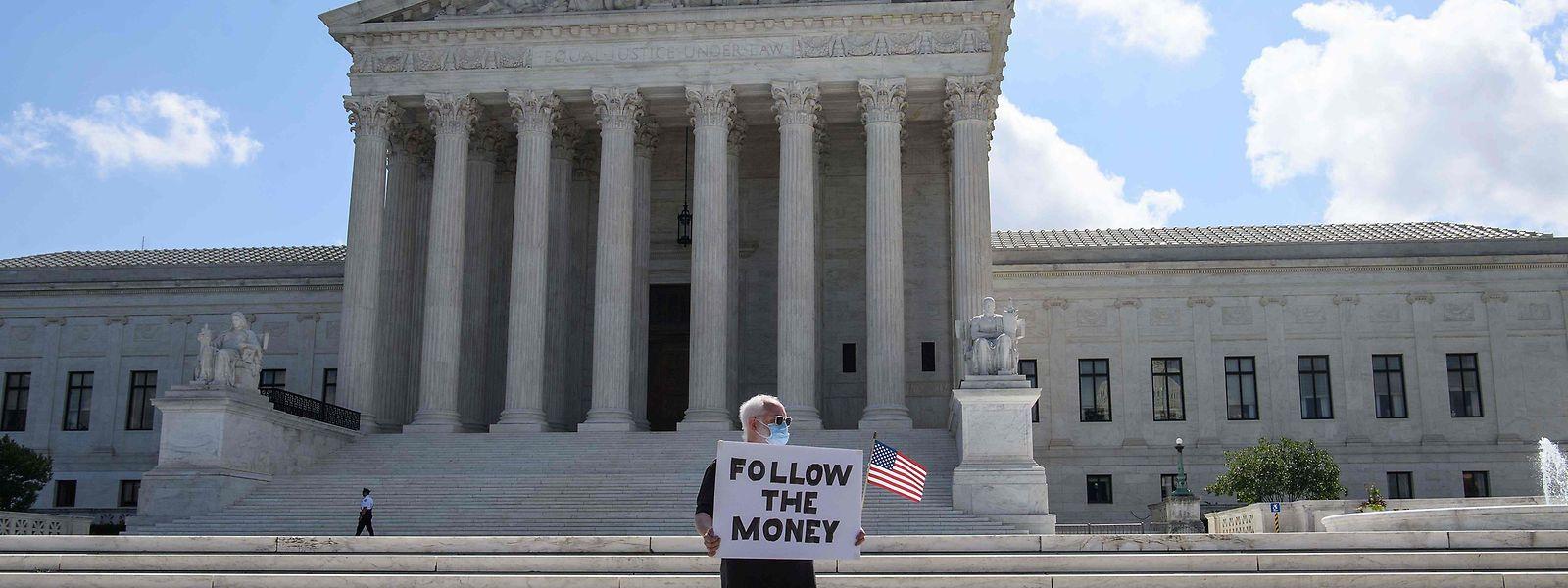 Der Supreme Court in Washington hat am Donnerstag seine Entscheidung getroffen.