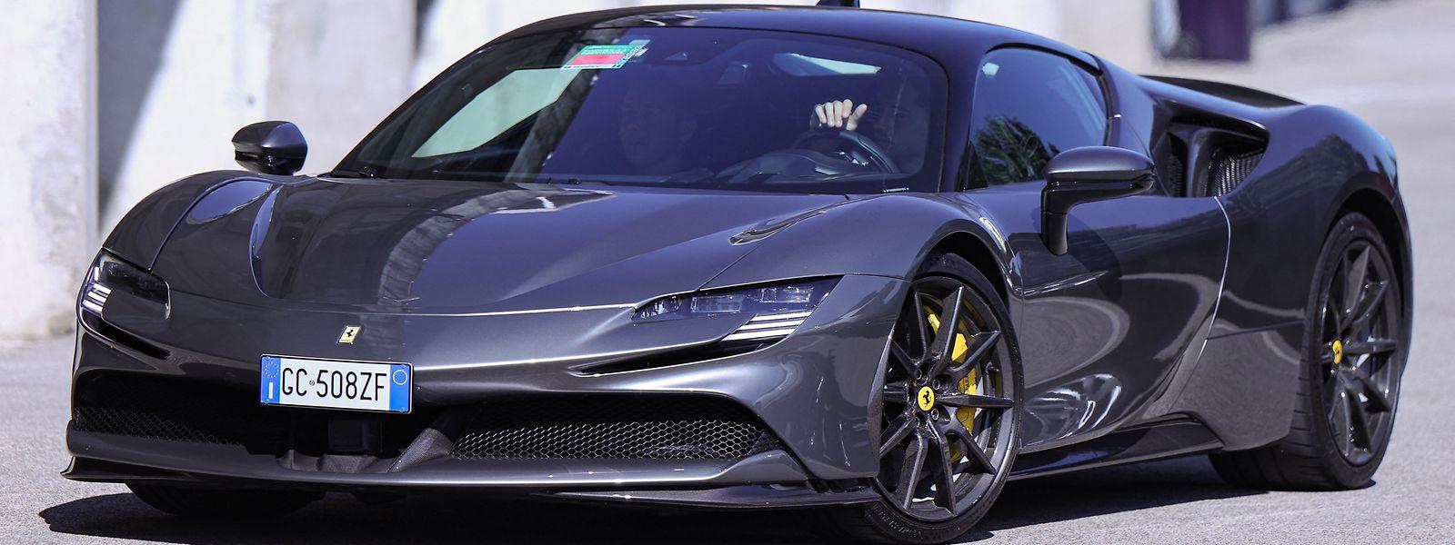 Ferrari steigert den Umsatz im zweiten Quartal um mehr als 80 Prozent.