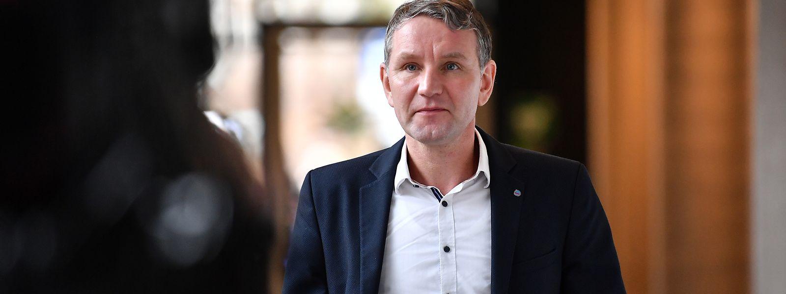 """Björn Höcke ist Vorsitzender der AfD-Fraktion im Landtag von Thüringen und einer der Köpfe des """"Flügel""""."""