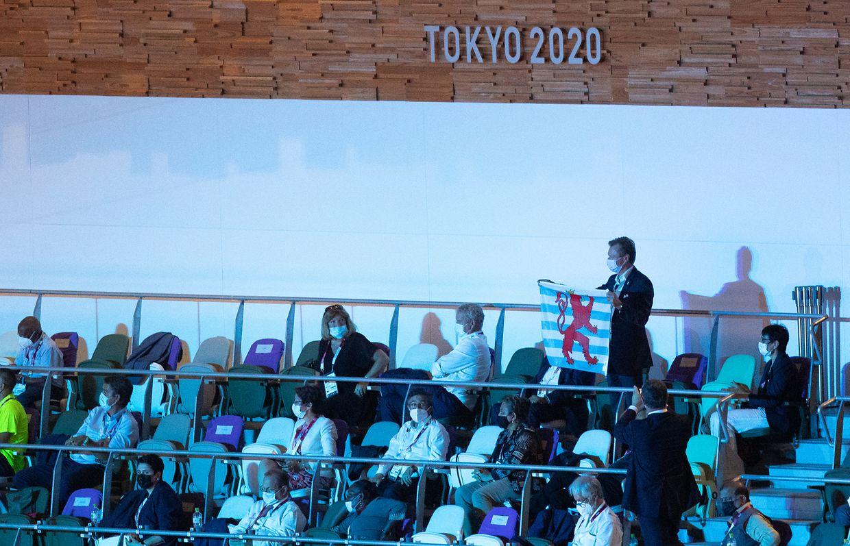 Großherzog Henri unterstützt die luxemburgischen Athleten.