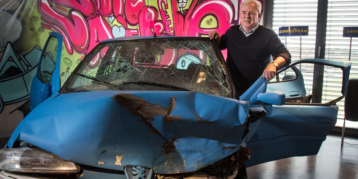 Seit 1995 ist Pannacci Direktor des Fahrsicherheitszentrums. Die jungen Fahrer hätten ihre Einstellung zum Auto und zum Autofahren seitdem geändert, sagt er.