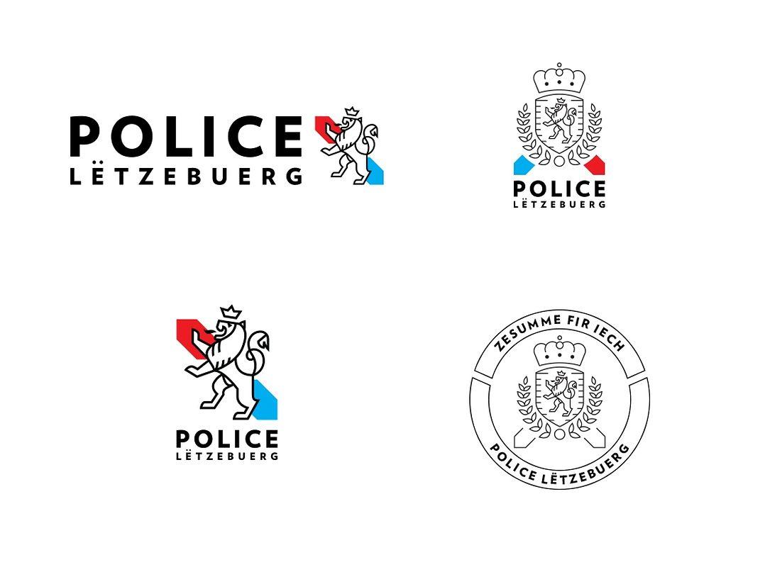 Die offizielle Präsentation der Polizei.