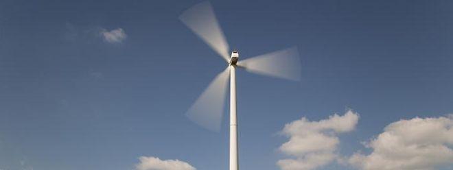 Einer der sieben Windparke der Soler befindet sich bei Heinerscheid.