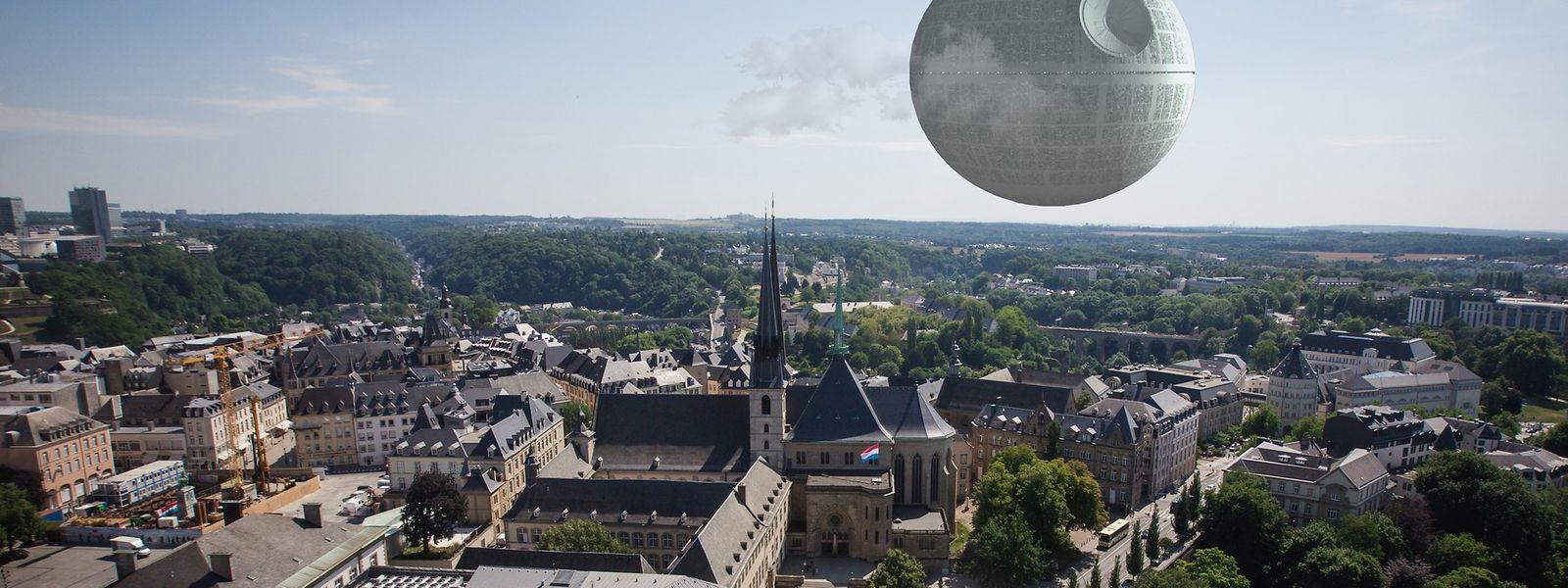 So würde wahrscheinlich Luxemburg-Stadt in vielen Jahren aussehen, wenn die Petition Nr. 952 ernst genommen worden wäre.