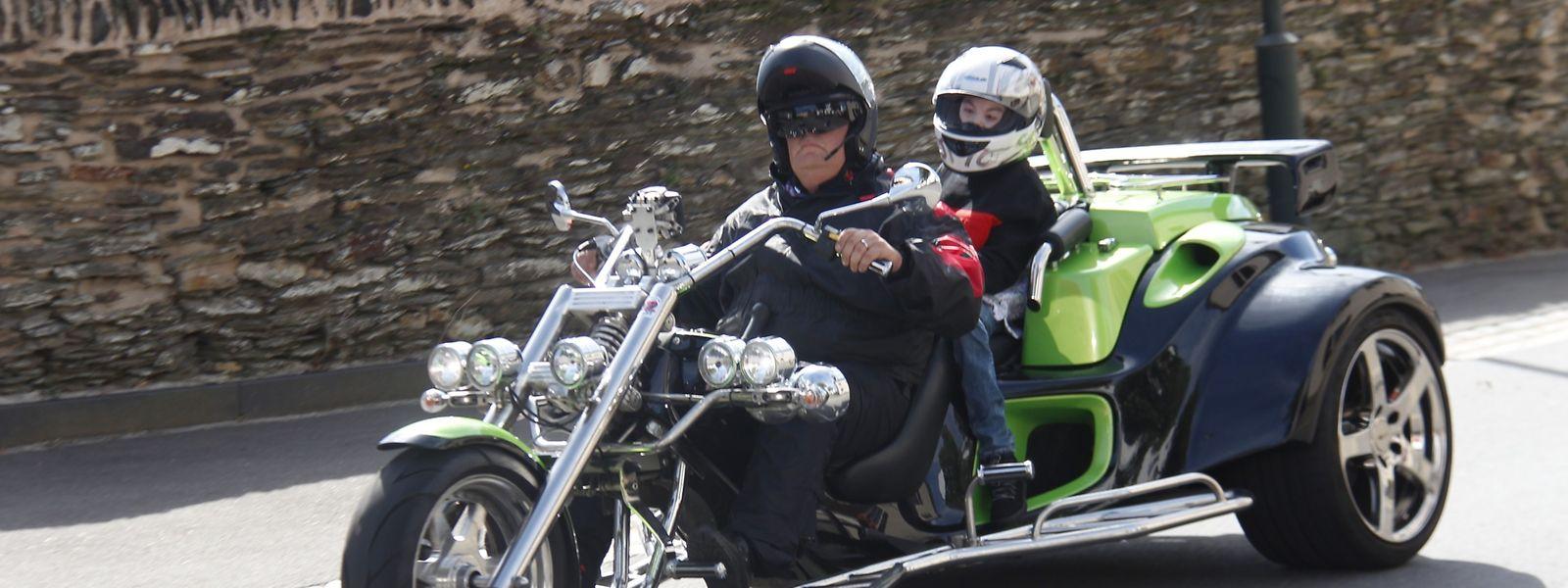Bryan et Carlo sur le Trike