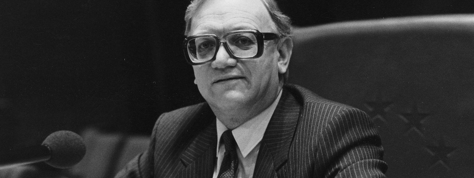 Nicolas Estgen saß zwischen 1979 und 1994 für die CSV im EU-Parlament.