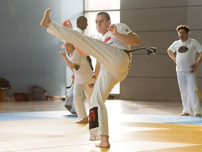 Réportage Capoeira / Geesseknäpchen / 19.05.2017 / Foto: Ralph Hermes / Imagify