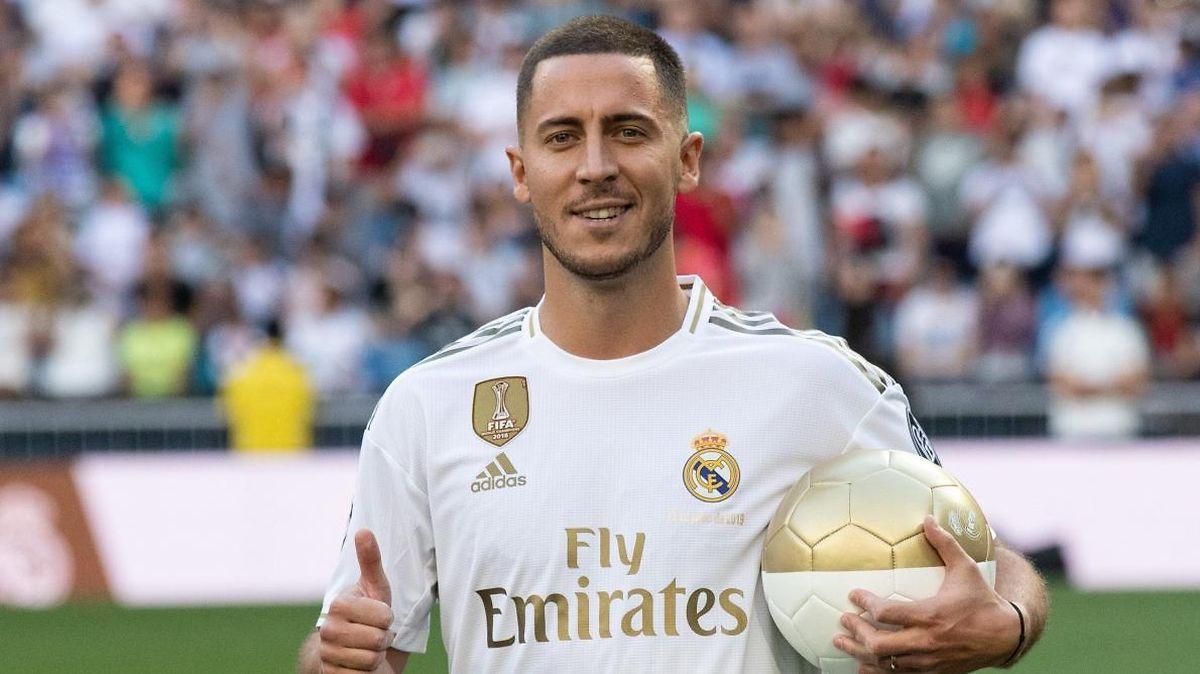 Le Belge Eden Hazard est passé de Chelsea au Real Madrid pour plus de 100 millions d'euros