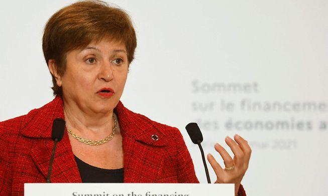 International Monetary Fund Managing Director, Kristalina Georgieva