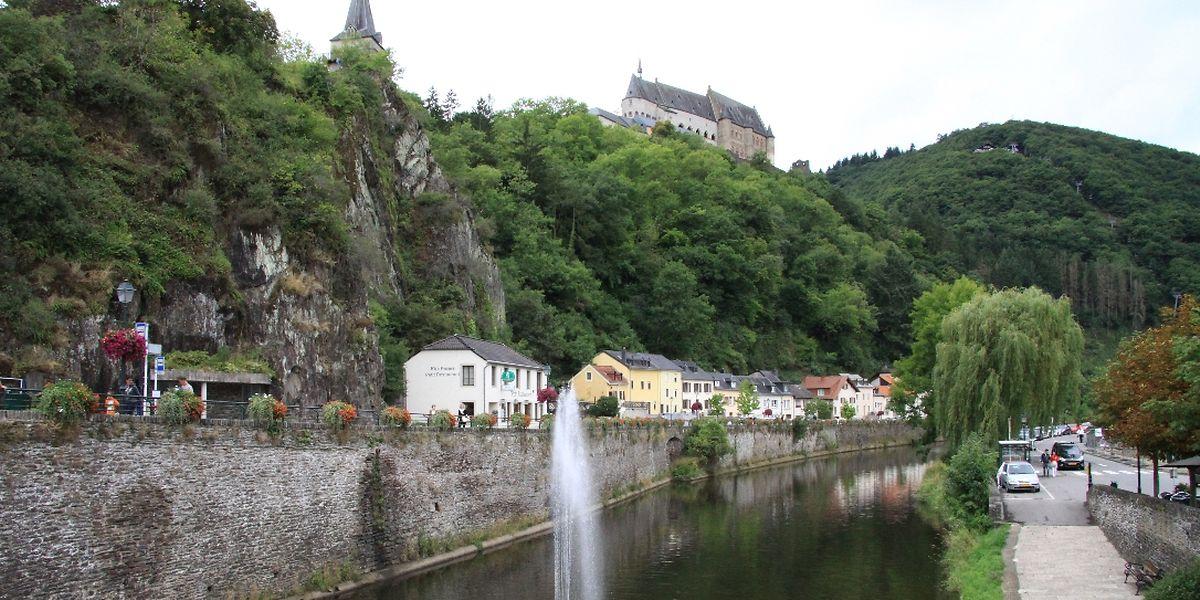 Nach einer Rundtour durch die malerische Naturlandschaft des Öslings kann man sich in Vianden auch stärken.