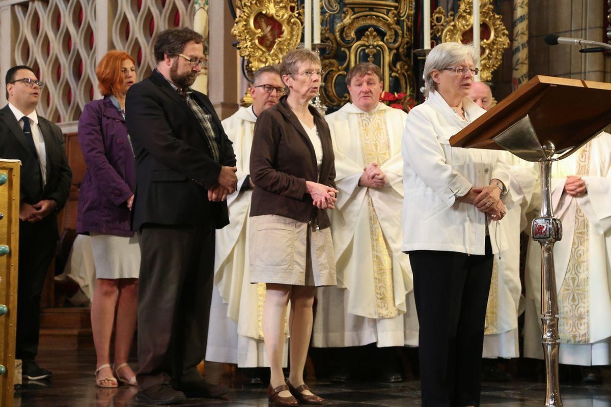 Messe für das Domkapitel, den Bischofsrat, das Centre Jean XXIII, die LSRS, die Diözesankurie, das Seelsorgereferat und alle kirchlichen Mitarbeiterinnen und Mitarbeiter.