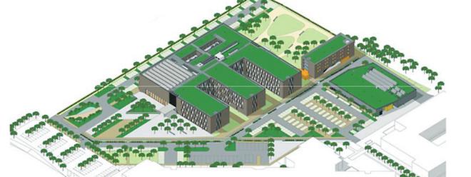 """Wann die Bauarbeiten für den """"Lycée Technique pour Professions de Santé"""" beginnen, steht derzeit noch nicht fest."""