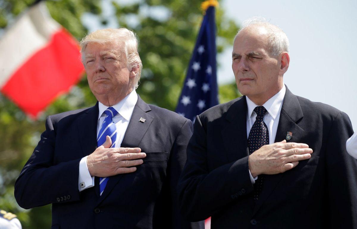 Trump bewundert Ex-Militärs, das ist bekannt. Auch Kelly schätzt er sehr. Ob der an strikte Regeln gewöhnte Vier-Sterne-General indessen mit Trumps chaotisch wirkendem Regierungsstil klarkommt, bleibt abzuwarten.
