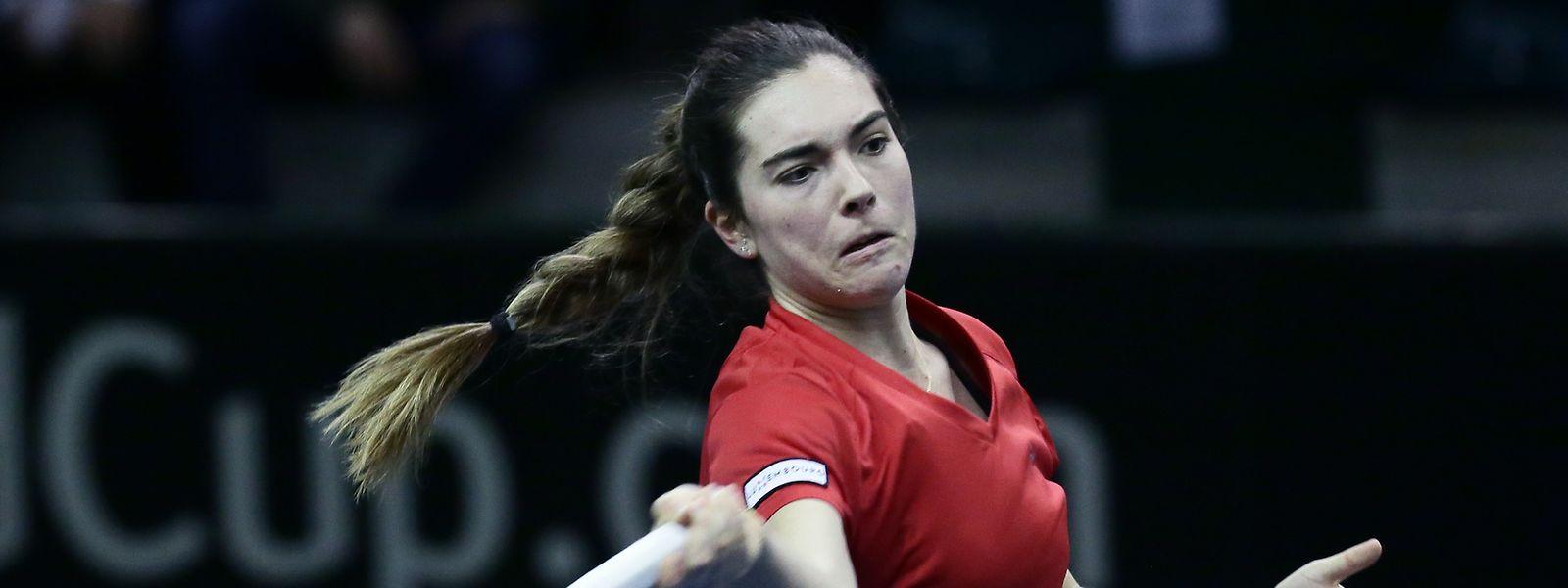 Troisième simple, et troisième succès net et sans bavure pour Eléonora Molinaro dans cette Fed Cup 2019 à domicile