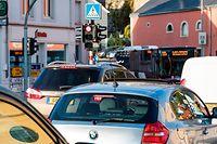 Quotidiennement, ce sont entre 11.000 et 17.000 véhicules qui traversent la localité d'Hesperange