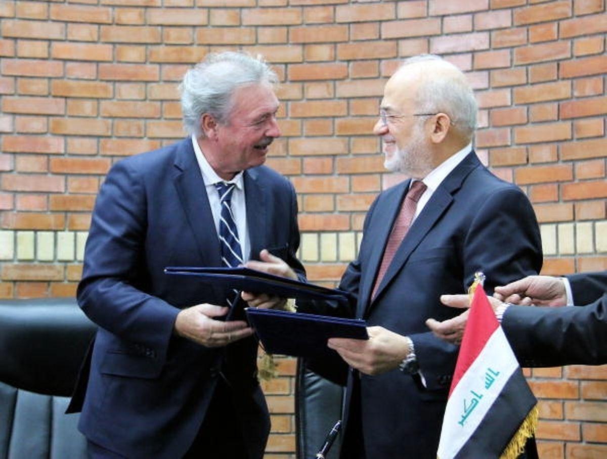Jean Asselborn avec le ministre des Affaires étrangères de l'Irak, Dr. Ibrahim Abdul-Kareem Jaafari