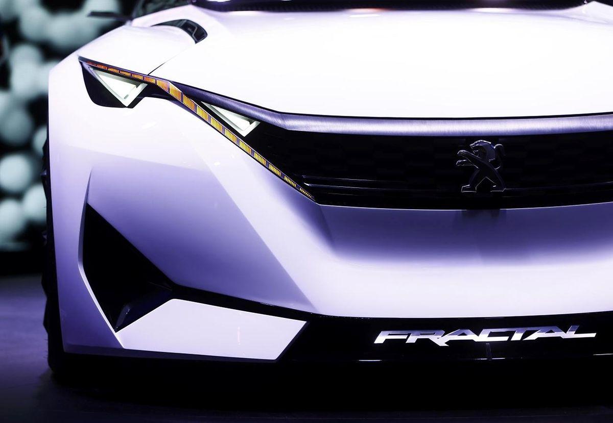 """Peugeot wartet mit seinem neuen """"Fractal Concept"""" auf."""