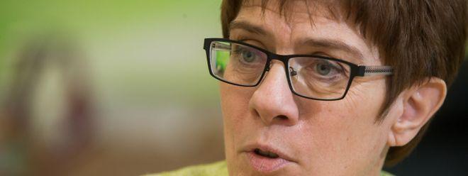 Annegret Kramp-Karrenbauer, Ministerpräsidentin des Saarlandes.