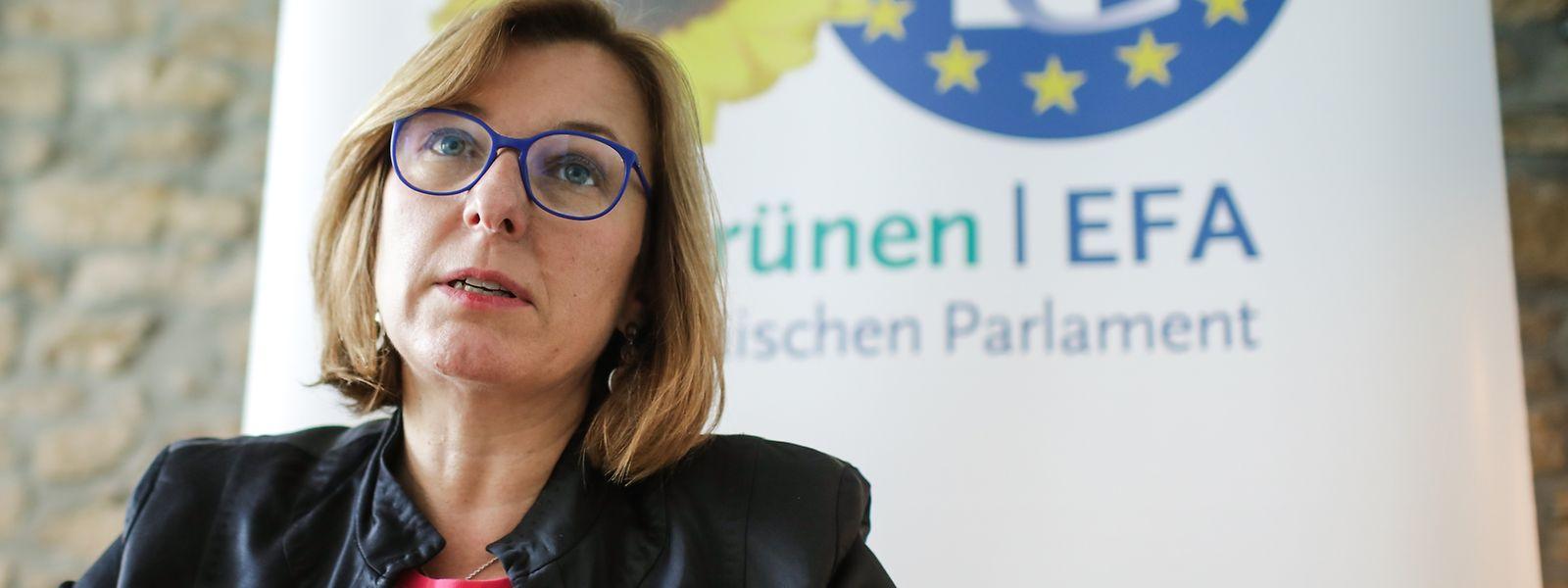 Tilly Metz siège actuellement pour les Verts au Parlement européen.