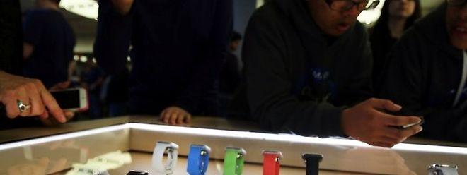 L'Apple Watch existe en plusieurs tailles et couleurs