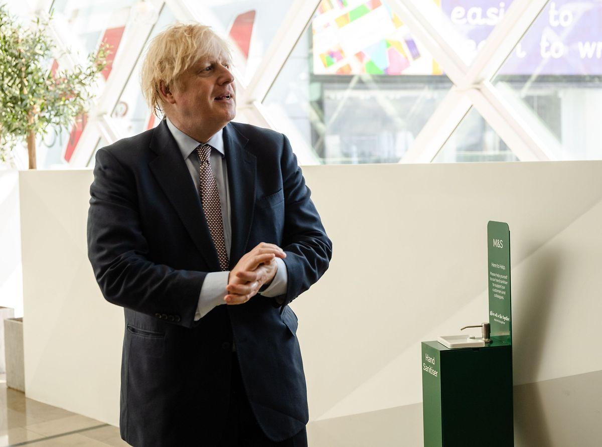 Der britische Premier Boris Johnson will rasche Fortschritte.