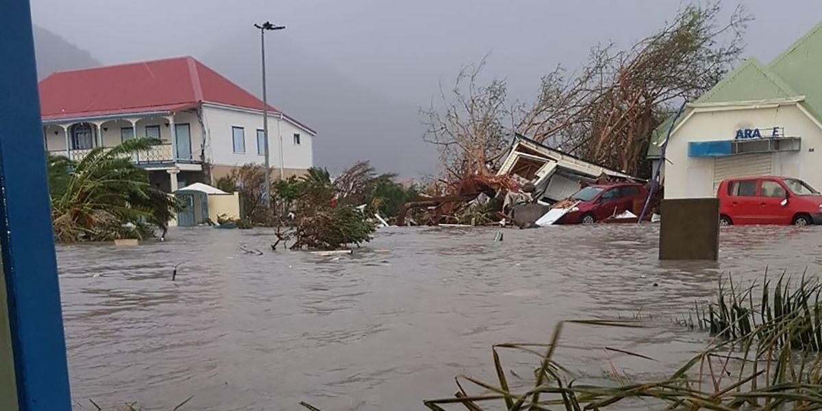 """""""Irma"""" hat auf Saint-Martin besonders heftig gewütet."""