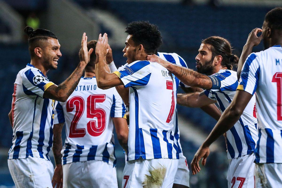 L'attaquant colombien du FC Porto Luis Diaz a marqué, enfonçant Marseille au stade du Dragon.