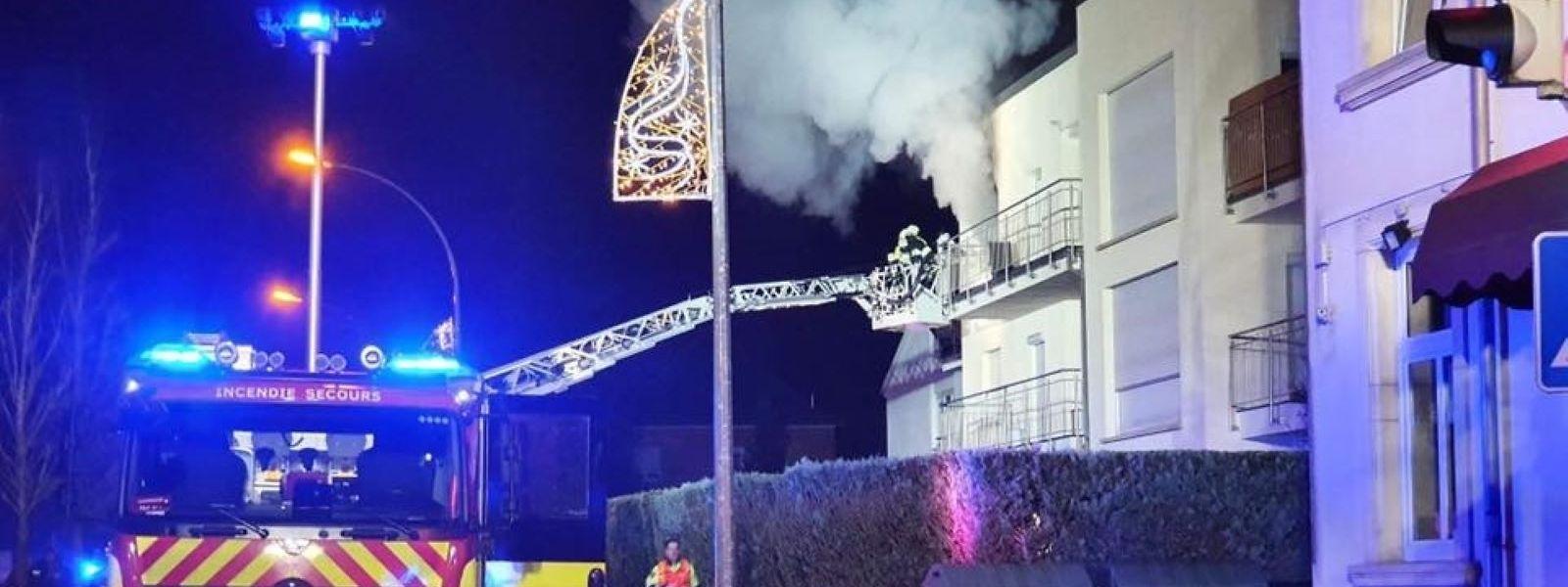 Ein Mann starb am Tag nach dem Brand an seinen schweren Verletzungen.