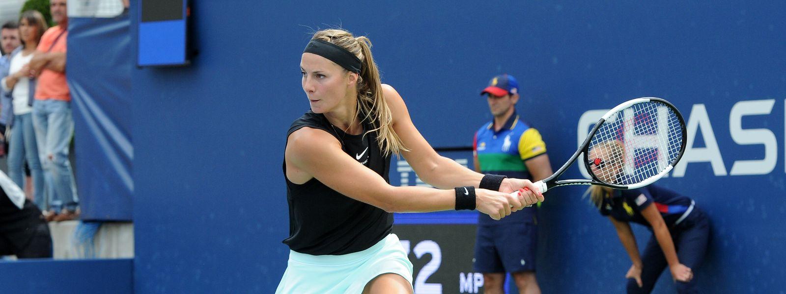 Mandy Minella n'a pu passer l'obstacle Ekaterine Gorgodze, pourtant moins bien classée que la Luxembourgeoise.