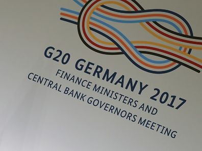 U.S. Treasury Secretary Steve Mnuchin addresses a news conference at the G20 Finance Ministers and Central Bank Governors Meeting in Baden-Baden, Germany, March 18, 2017.     REUTERS/Kai Pfaffenbach