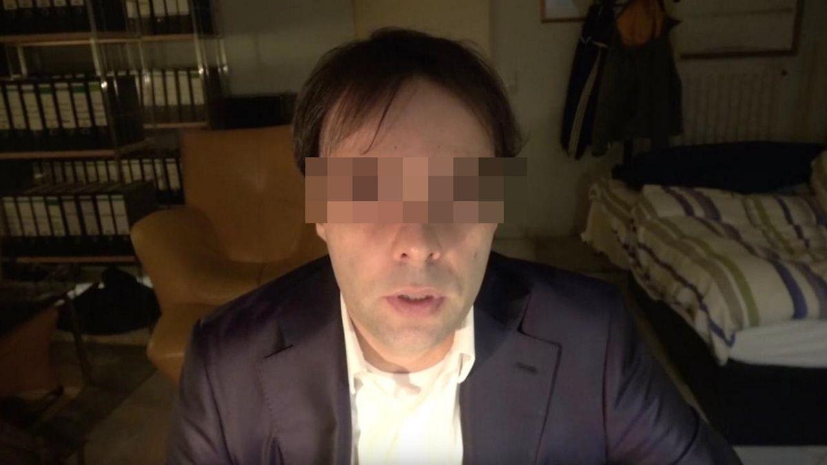 Der Attentäter von Hanau in einem von ihm aufgenommenen Video vor der Tat.