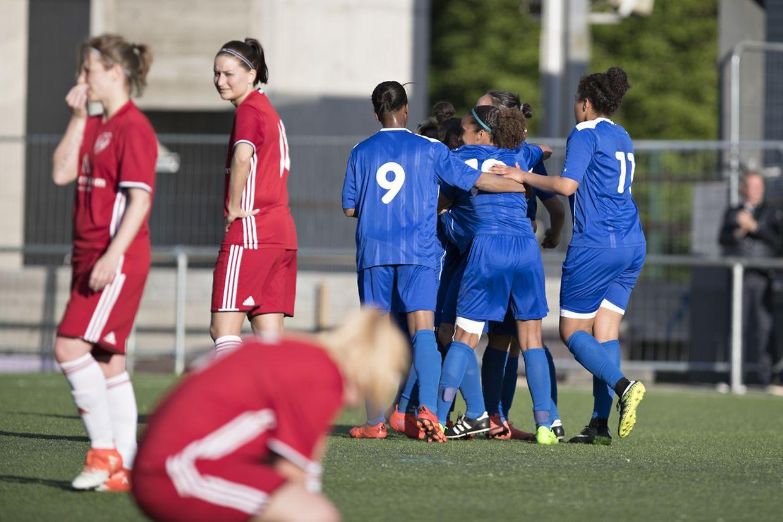 Bettembourg a battu l'Entente Rosport 9-0, une victoire synonyme de titre.