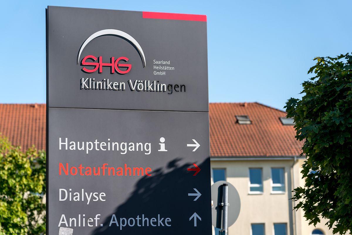 Von 2015 bis 2016 arbeitete der Verdächtige in Vöklingen. Hier sollen die Morde passiert sein.