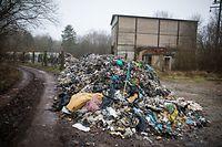 wilde Müllhalden im Grenzgebiet - Rédange (F) - Foto: Pierre Matgé/Luxemburger Wort