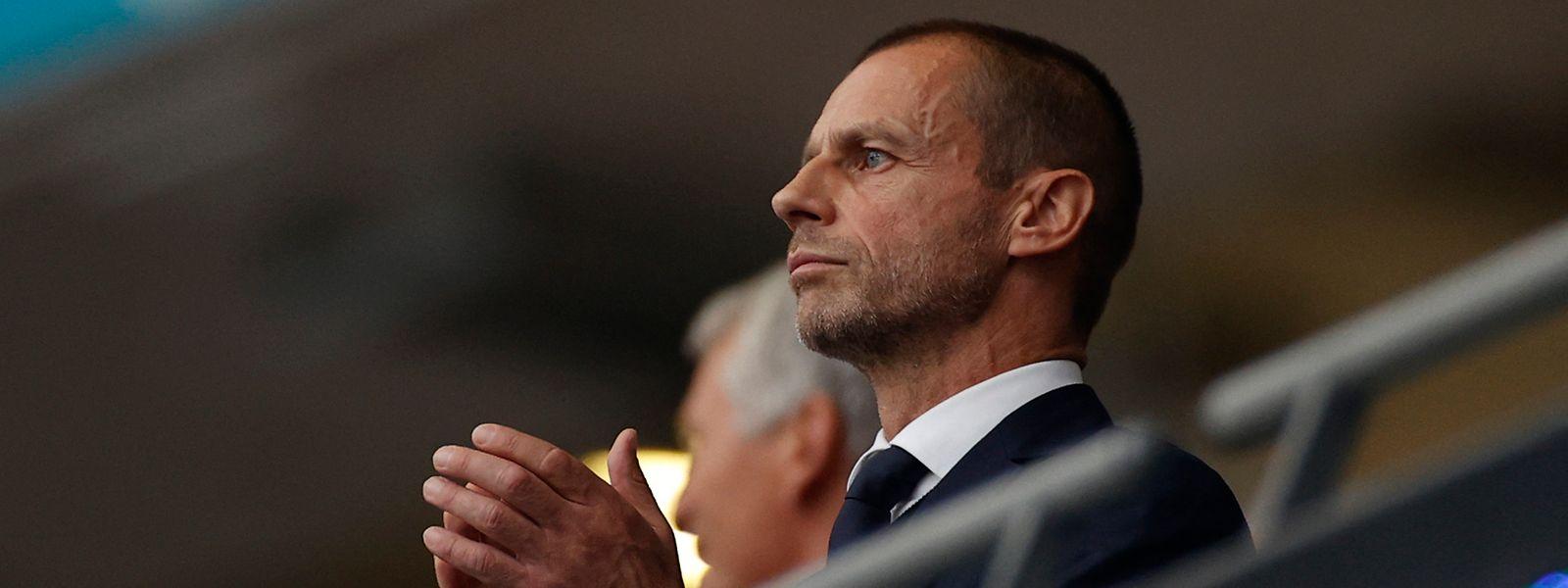 Die UEFA um Präsident Aleksander Ceferin trifft viele fragwürdige Entscheidungen.