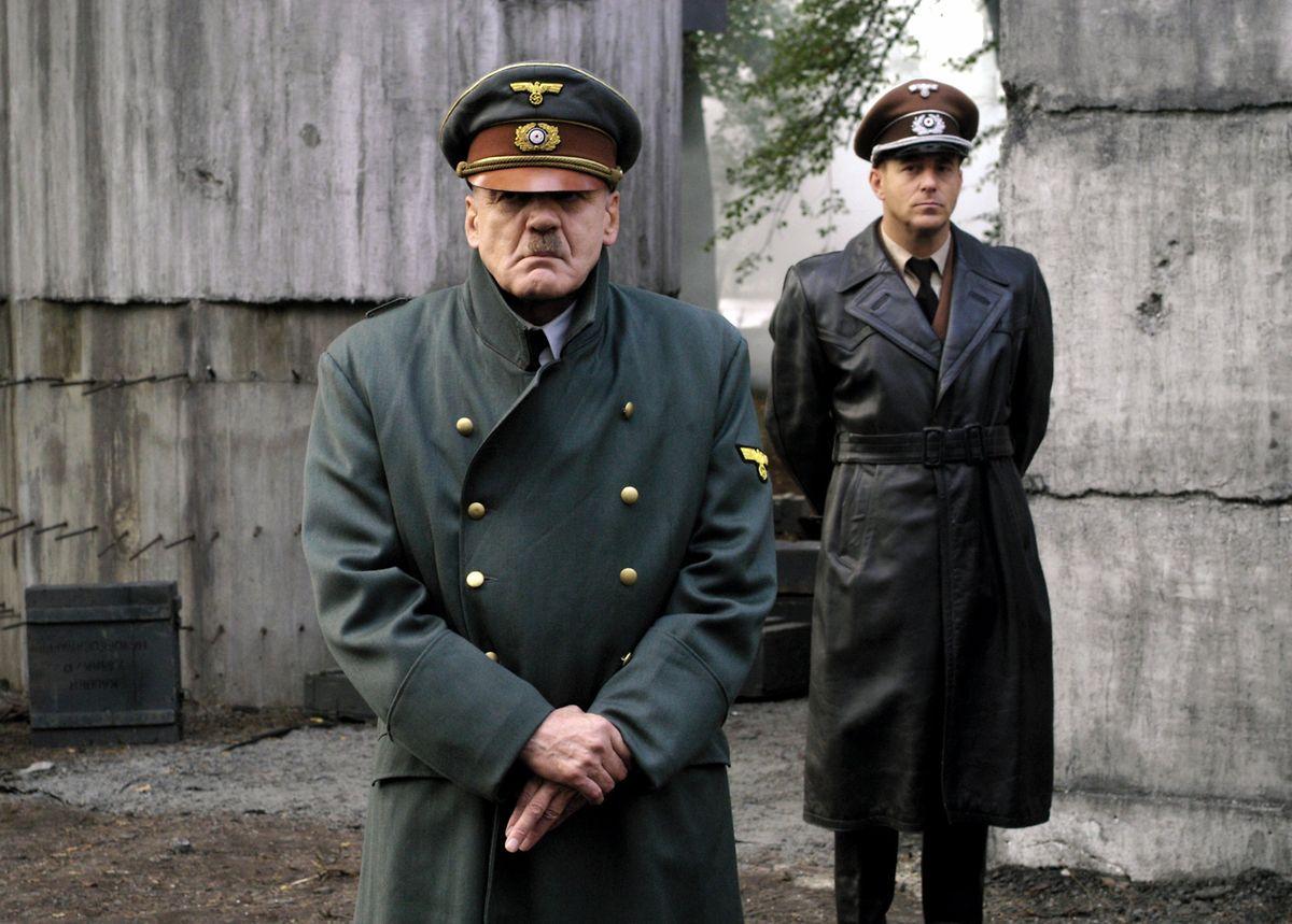 Bruno Ganz als Adolf Hitler in Der Untergang.