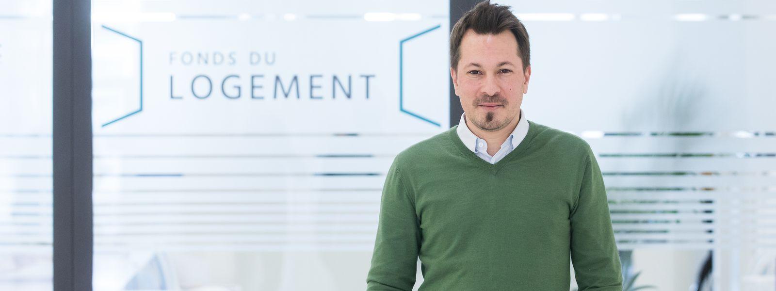 Fonds-Direktor Jacques Vandivinit will den öffentlichen Bauträger weiter modernisieren, damit er noch effizienter wird.