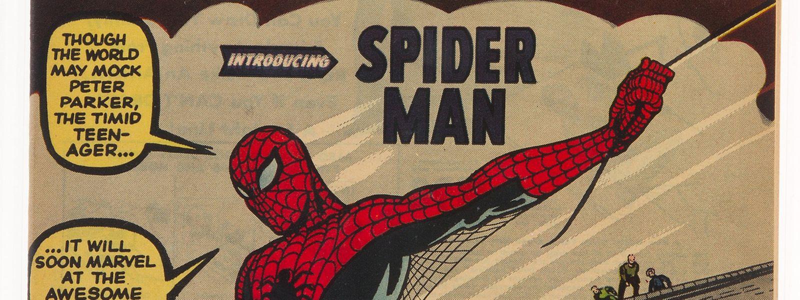 Als Peter Parker zu Spider-Man wurde - das Comicheft von 1962.