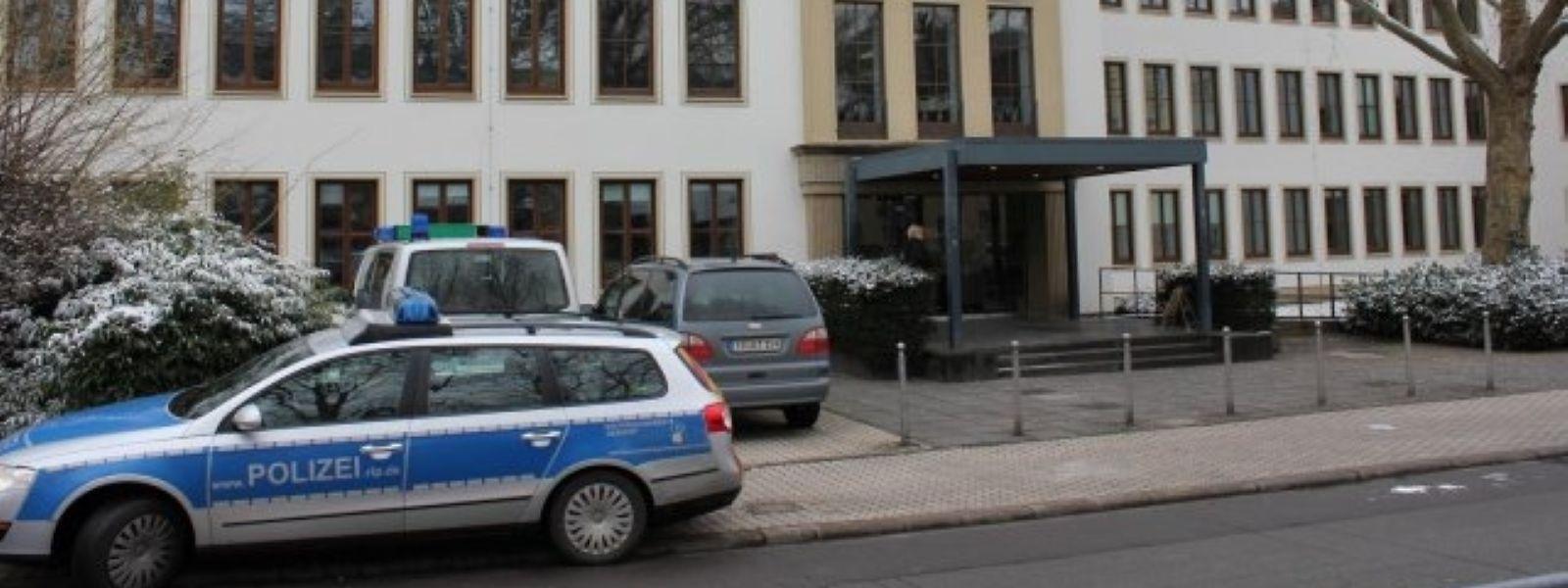 Das Landgericht Trier.